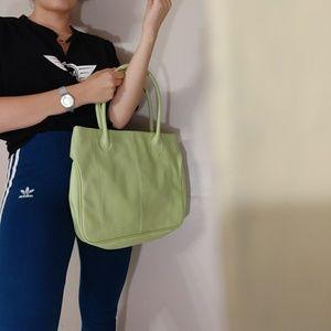 Vintage Green Mid Size Bag